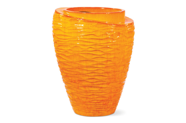Vases  Tranche  308GU363P2O, Orange