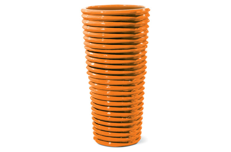 Vases Carlotta 308GU353P2O, Orange