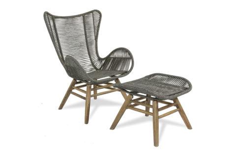 Oceans Neptune Chair Ottoman 3/4 504FT033P2G