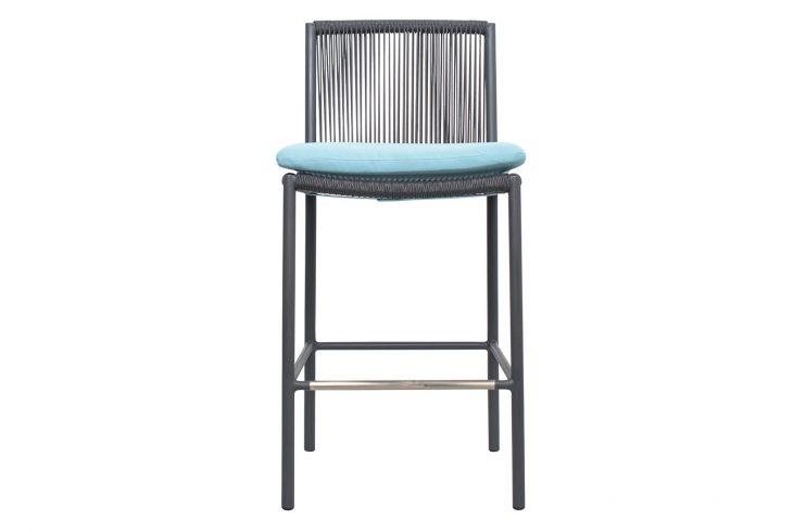 Archipelago Stockholm Counter Chair 620FT045P2DGP cushion 1 Front