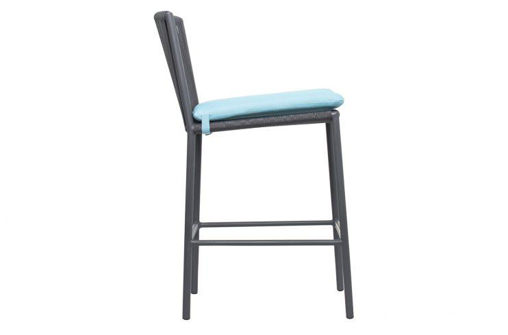 Archipelago Stockholm Counter Chair 620FT045P2DGP cushion 1 Side