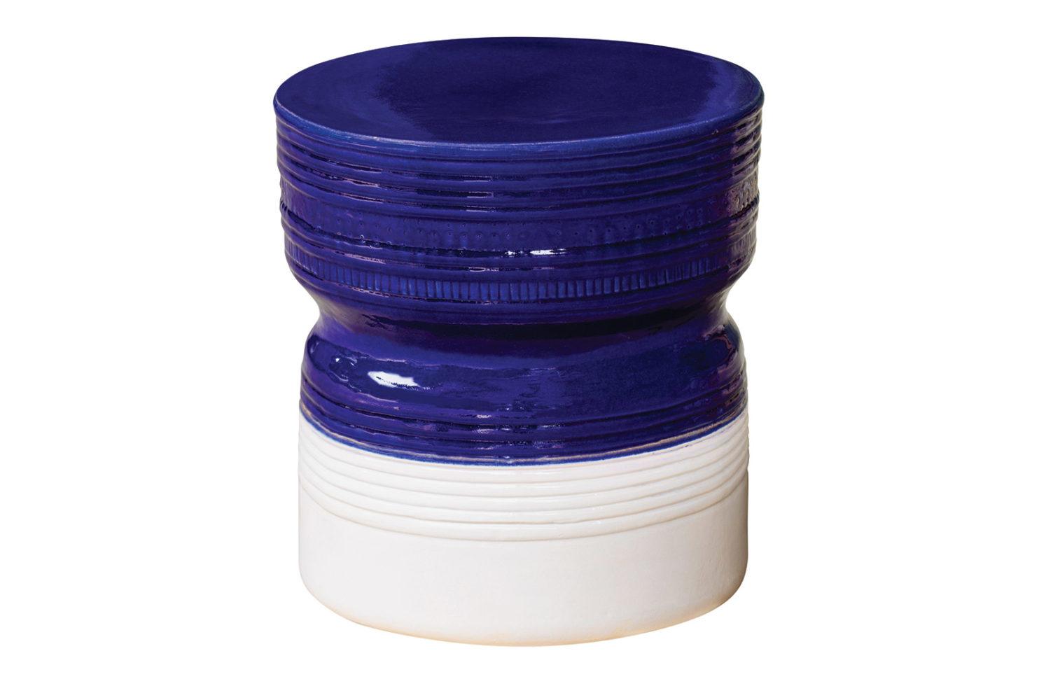 Ceramic ancaris stool 308FT342P2NBSW