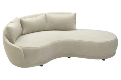 fizz grand royal one arm sofa w bumper 105FT001P2 SWB LAF