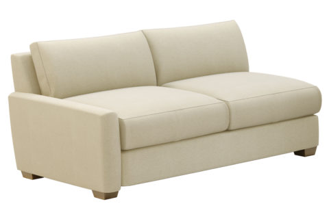 fizz imperial one arm apartment sofa 105FT004P2 SS LAF