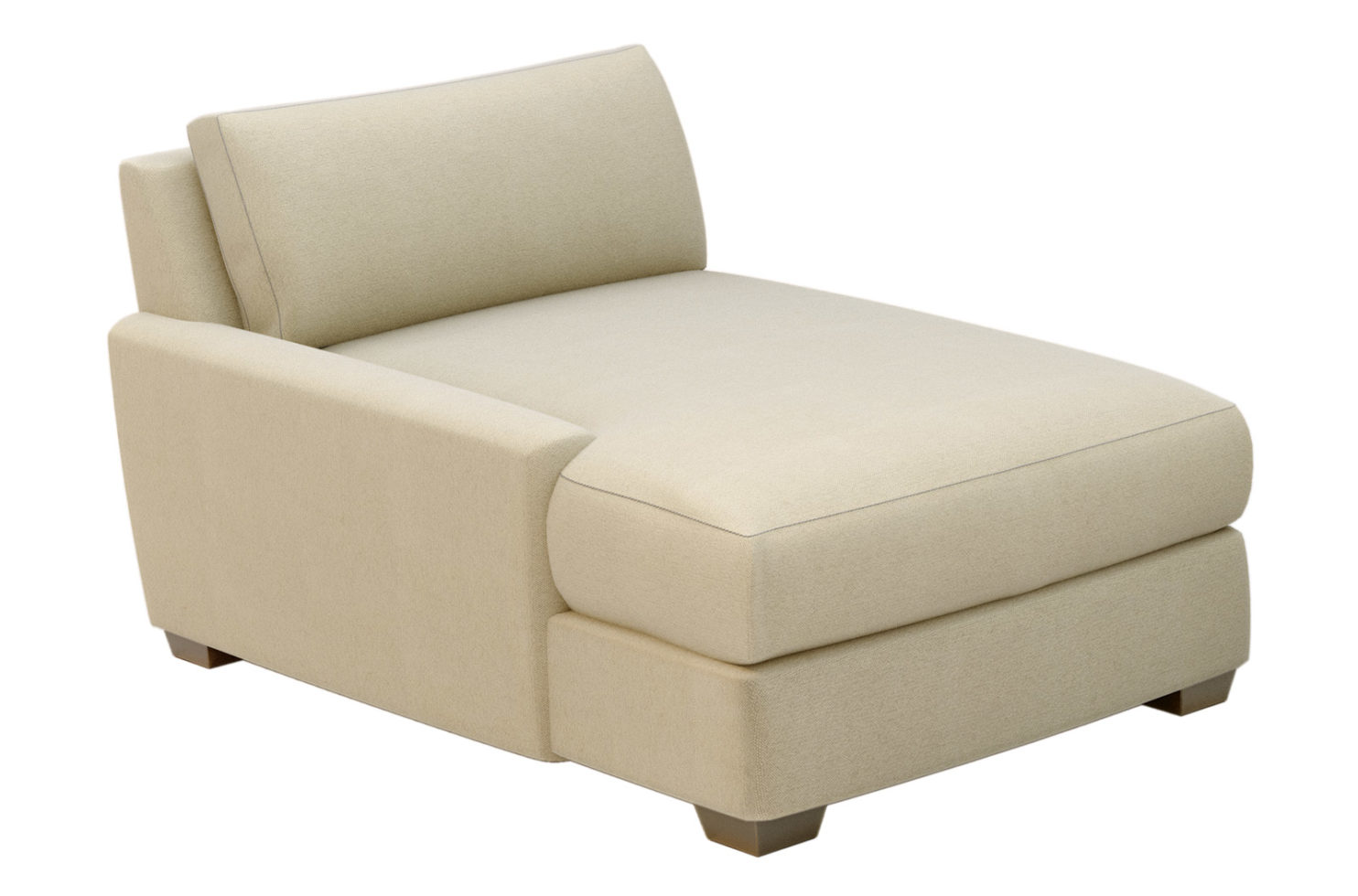 fizz imperial one arm chaise 105FT004P2 CH LAF