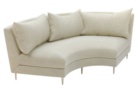 fizz mimosa armless sofa 105FT003P2 AS